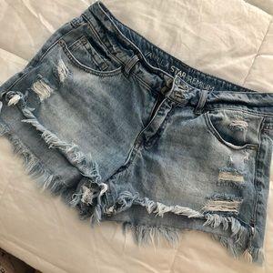 Tilly's Vanilla Star Premium Jean Shorts